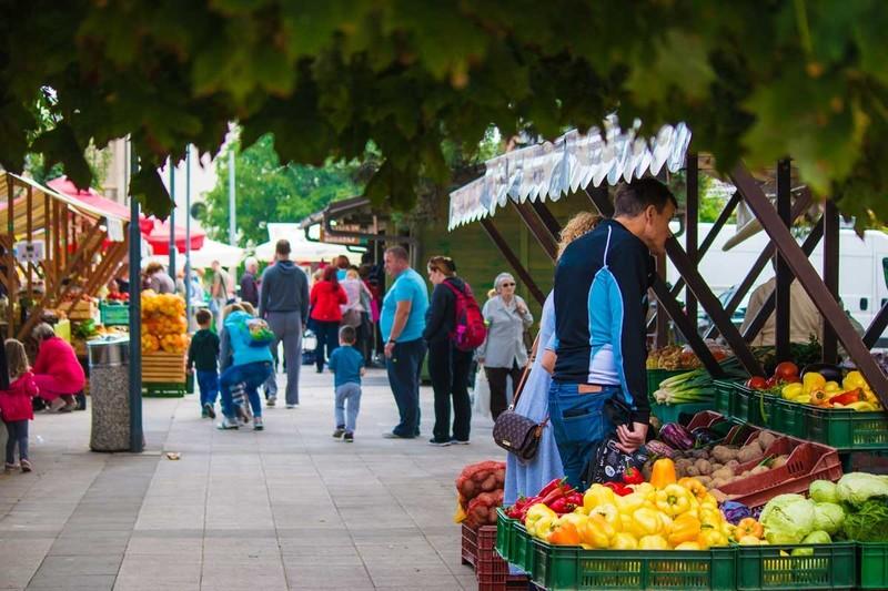 Tržni prostor v Domžalah