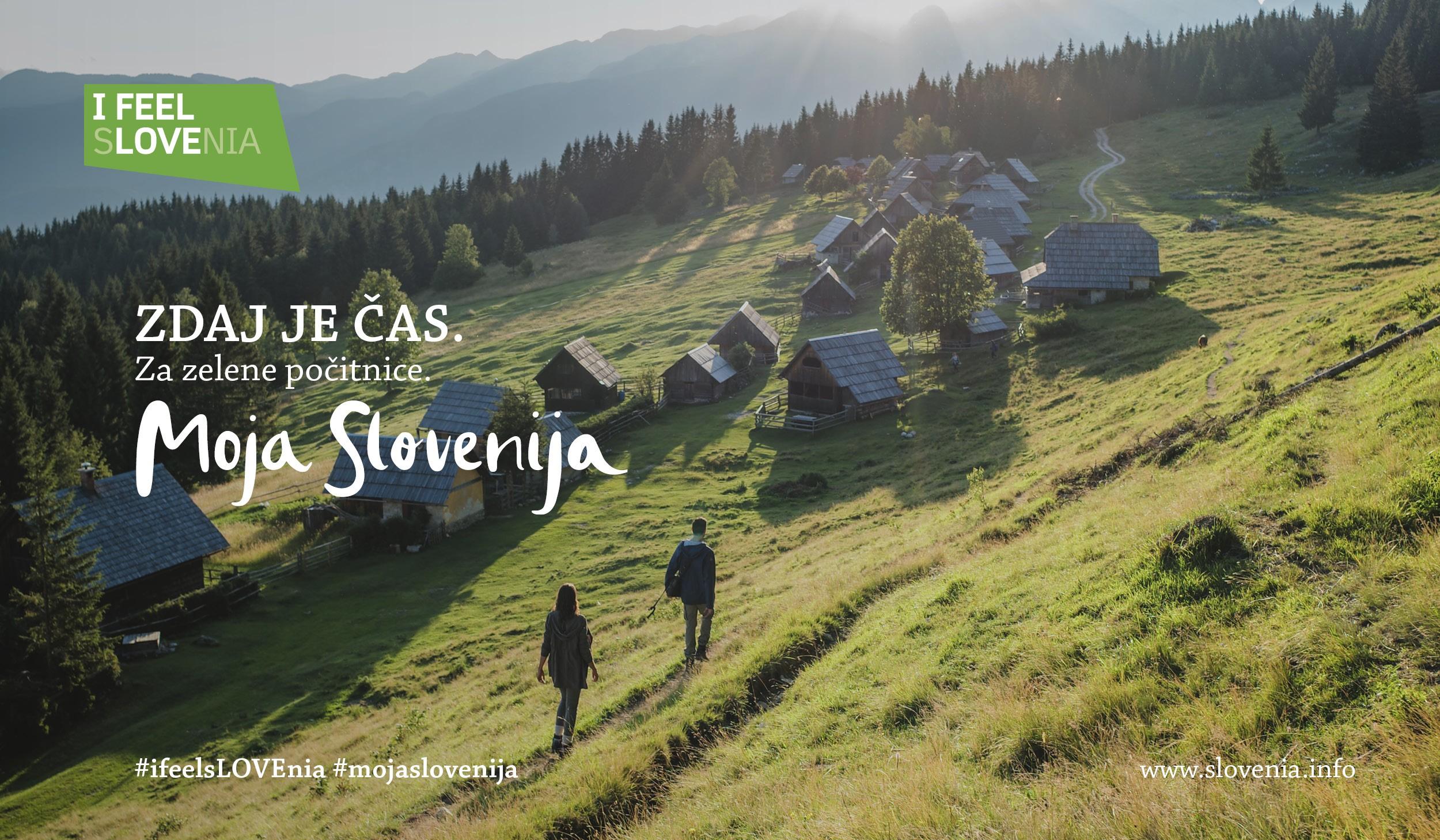 Zdaj je čas. Moja Slovenija.